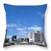 New Orleans Louisiana Throw Pillow by Olivier Le Queinec