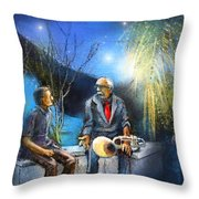 New Orleans Nights 02 Throw Pillow