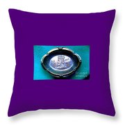New Orleans Rex Mardi Gras Favor 1913 Throw Pillow