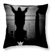 New Orleans Sacred Heart Of Jesus Throw Pillow