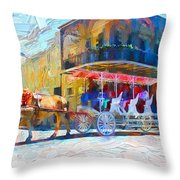 New Orleans Series 53 Throw Pillow