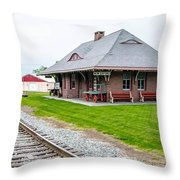 New Oxford Depot 2558 Throw Pillow