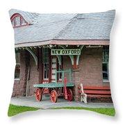 New Oxford Depot 2559 Throw Pillow