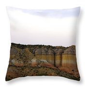 New Photographic Art Print For Sale Breaking Bad Country New Mexico Throw Pillow