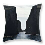 New Photographic Art Print For Sale Californian Channel Islands And Pacific Ocean Throw Pillow