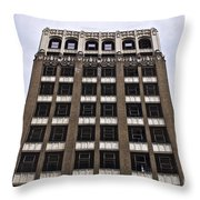 Vacant Downtown Building Los Angeles 3 Throw Pillow