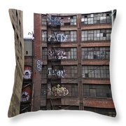 New Photographic Art Print For Sale Downtown Los Angeles 5 Throw Pillow