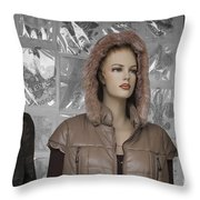 New Photographic Art Print For Sale Downtown Los Angeles 8 Throw Pillow