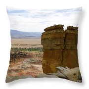 New Photographic Art Print For Sale Ghost Ranch New Mexico 10 Throw Pillow