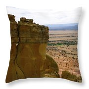 New Photographic Art Print For Sale Ghost Ranch New Mexico 11 Throw Pillow
