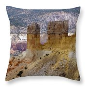 New Photographic Art Print For Sale Ghost Ranch New Mexico 9 Throw Pillow