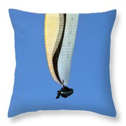 New Photographic Art Print For Sale Hanggliding 4 Throw Pillow