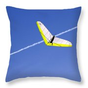 New Photographic Art Print For Sale Hanggliding 7 Throw Pillow
