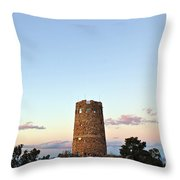 New Photographic Art Print For Sale Indian Watchtower At Grand Canyon Throw Pillow
