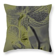 New Photographic Art Print For Sale Orchids 11 Throw Pillow