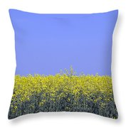New Photographic Art Print For Sale Yellow English Fields 2 Throw Pillow