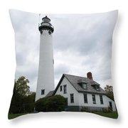 New Presque Isle Throw Pillow