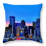 New Seattle Day Throw Pillow