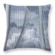 New Skyline Bridge Throw Pillow