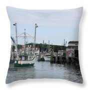 New Species At The Port Throw Pillow