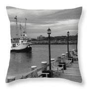 New Species Heading Home Throw Pillow
