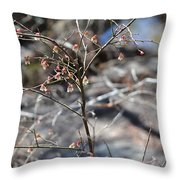 New Spring Buds Throw Pillow