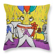 New Tooth Throw Pillow