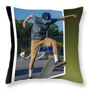 New Trick - Oof Throw Pillow