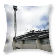 New Ullevi Stadium 01 Throw Pillow