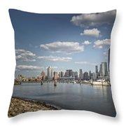 New World Trade Center Throw Pillow