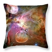 New Worlds Throw Pillow