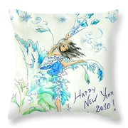New Year 2010 Throw Pillow