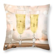 New Year Celebration Throw Pillow