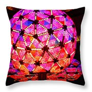 New Year's Ball Throw Pillow