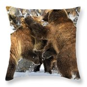 New Years Celebration Throw Pillow