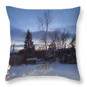 New Year's Eve Throw Pillow