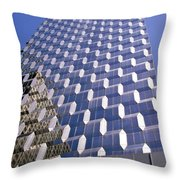 New York Abstract #2 Throw Pillow