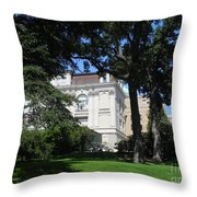 New York Botanical Gardens Throw Pillow
