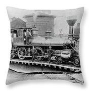 New York Central, 1880 Throw Pillow