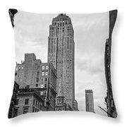 New York City - Usa Throw Pillow