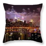 New York City Celebrates Throw Pillow