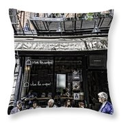 New York City Faces - Another Look Throw Pillow
