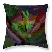 New York City Energy Throw Pillow