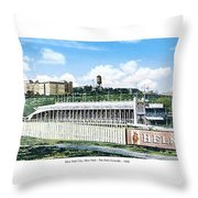 New York City New York - The Polo Grounds - 1900 Throw Pillow