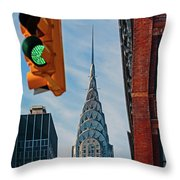 New York City, New York State, United Throw Pillow
