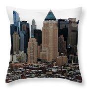 New York City Skyline 19 Throw Pillow