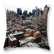 New York City Skyline 20 Throw Pillow