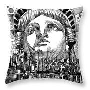 New York City Tribute Throw Pillow