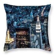 New York City Triptych Part 1 Throw Pillow