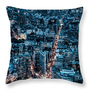 New York City Triptych Part 2 Throw Pillow